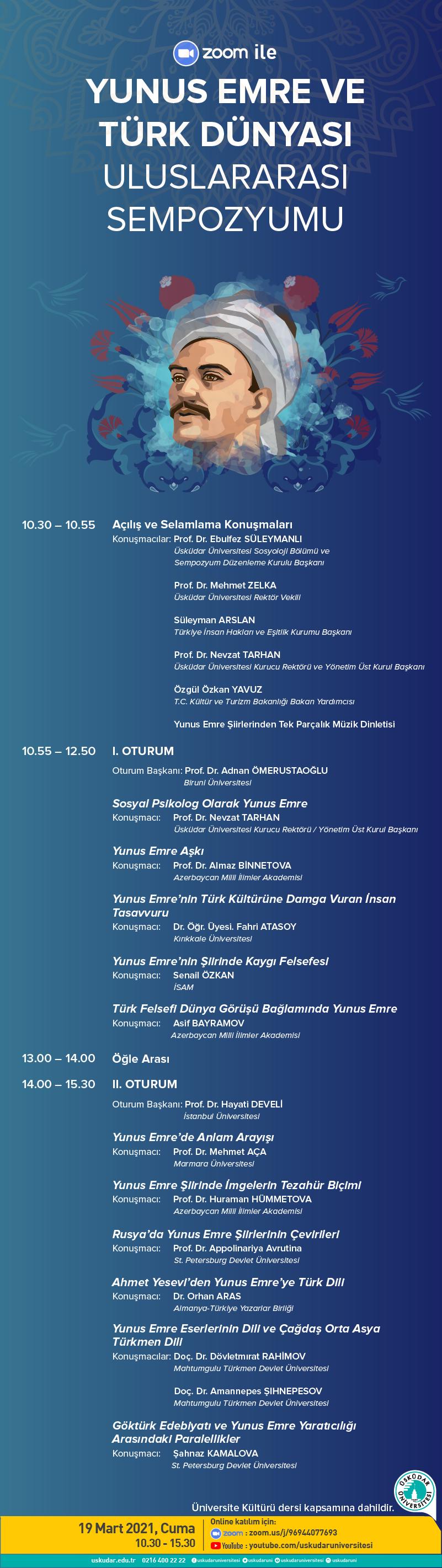 Yunus Emre ve Türk Dünyası Sempozyumu