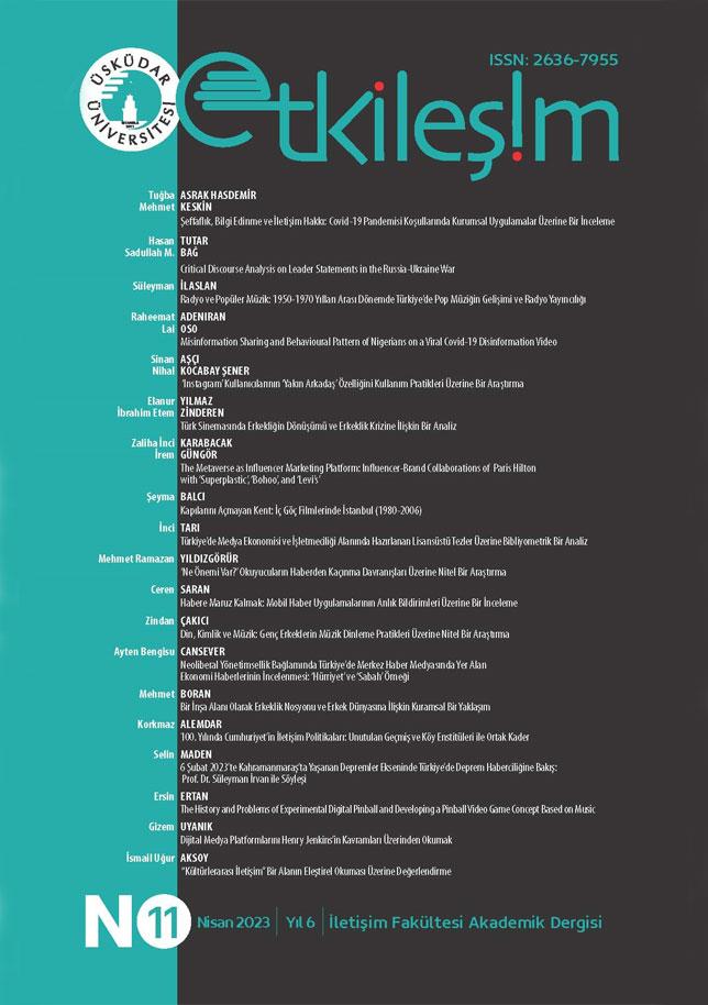 Etkileşim (Interaction) Journal