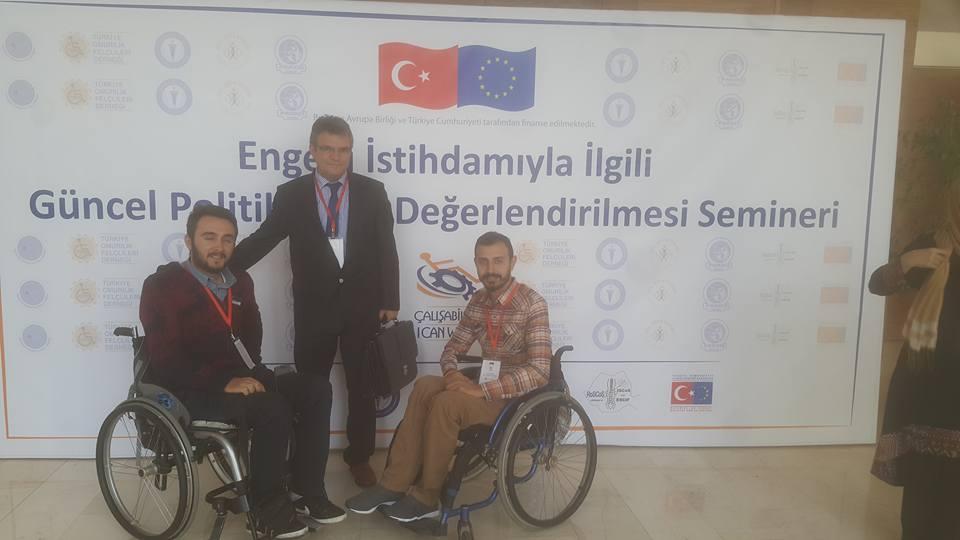 Engellilerin sorunları bu seminerde tartışıldı