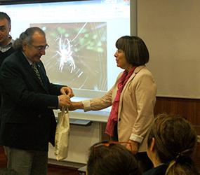 Multidisipliner Bilimsel Eğitim Toplantısının konuğu Prof. Dr. Ayşin Dervent oldu.
