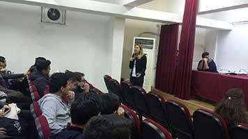 """Tözeniş üniversite adaylarına """" Sınav Sistemini"""" anlattı"""