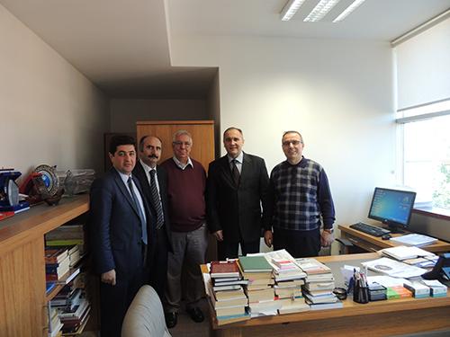 Prof.Dr. Ruşen Galyamov'dan Üsküdar Üniversitesi'ne ziyaret 2