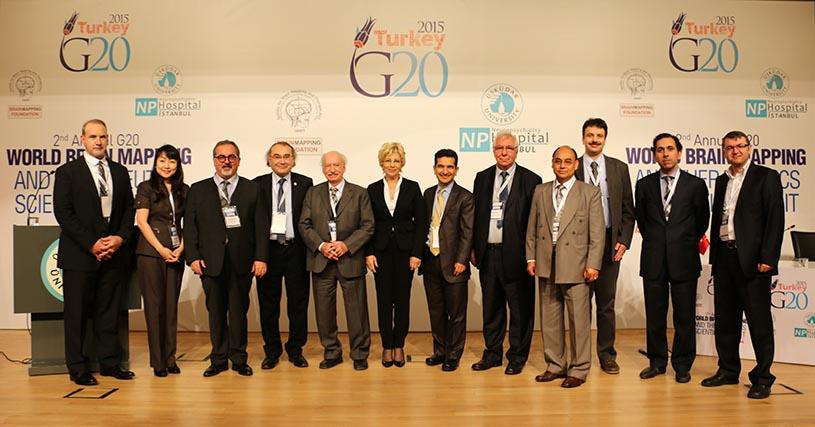 Üsküdar Üniversitesi'nde 2. G20 Dünya Beyin Haritalama Zirvesi 2