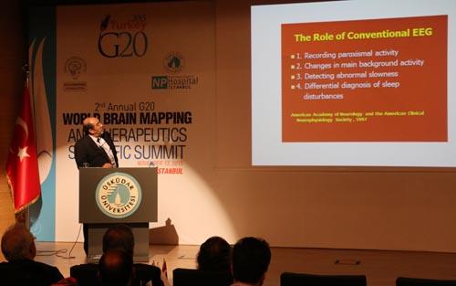Üsküdar Üniversitesi'nde 2. G20 Dünya Beyin Haritalama Zirvesi 15