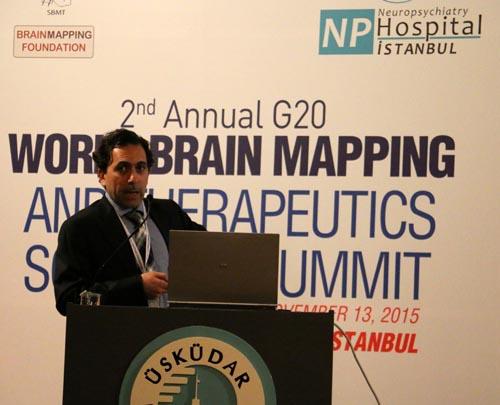 Üsküdar Üniversitesi'nde 2. G20 Dünya Beyin Haritalama Zirvesi 17