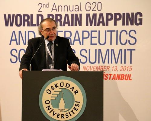 Üsküdar Üniversitesi'nde 2. G20 Dünya Beyin Haritalama Zirvesi 3