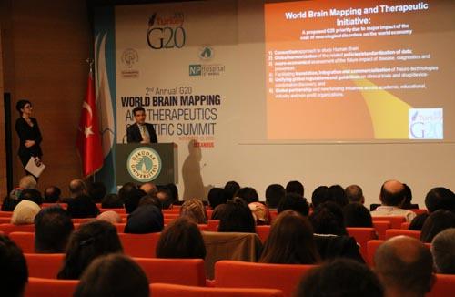 Üsküdar Üniversitesi'nde 2. G20 Dünya Beyin Haritalama Zirvesi 6