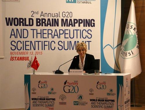 Üsküdar Üniversitesi'nde 2. G20 Dünya Beyin Haritalama Zirvesi 8