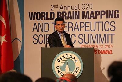 2. G20 World Brain Mapping Summit at Üsküdar University 3