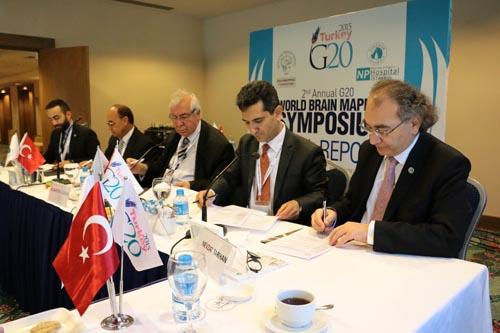 2. G20 Dünya Beyin Haritalama ve Tedavileri Zirvesi Tamamlandı. Sonuçlar G20 Liderleriyle Paylaşıldı 8