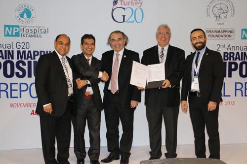 2. G20 Dünya Beyin Haritalama ve Tedavileri Zirvesi Tamamlandı. Sonuçlar G20 Liderleriyle Paylaşıldı 9