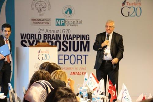 2. G20 Dünya Beyin Haritalama ve Tedavileri Zirvesi Tamamlandı. Sonuçlar G20 Liderleriyle Paylaşıldı 11