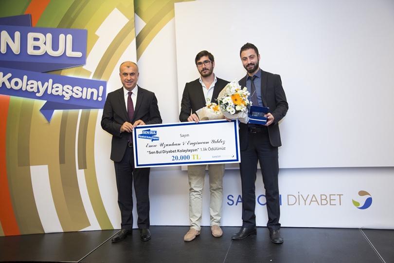 """Üsküdar Üniversitesi öğrencisi """"diyabet"""" projesiyle birinci oldu. 2"""