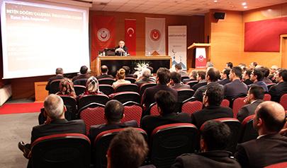 """Tarhan'dan Hâkim ve Savcılara """"Liderlik Psikolojisi"""" konferansı"""