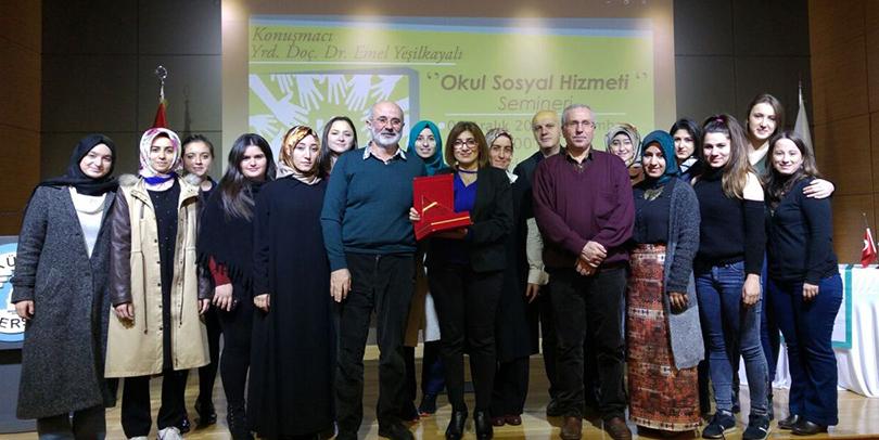 """""""Okul Sosyal Hizmeti"""" semineri 4"""
