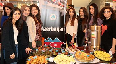 Yabancı uyruklu öğrenciler hem eğlendi hem kültürlerini tanıttı 2