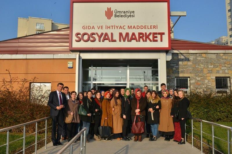 Üsküdar Üniversitesi Öğrencileri Ümraniye Belediyesi'nin çalışmalarını yerinde gördü 4