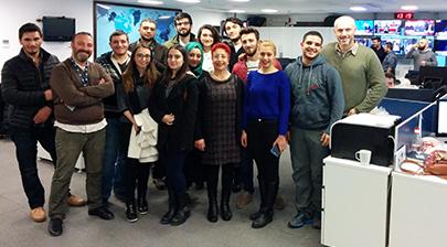 İletişim öğrencileri Anadolu Ajansı'nı ziyaret etti 3