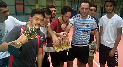 Şampiyonluklarını baklava ile kutladılar 2