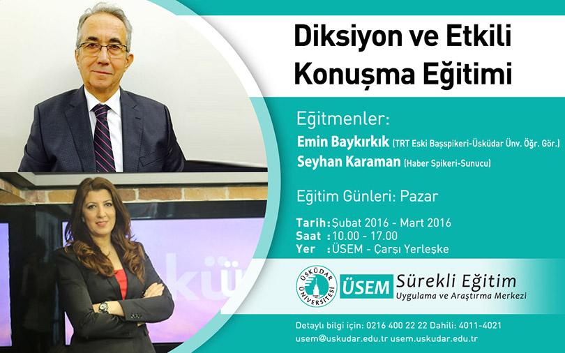 """TRT Başspikerinden """"güzel konuşma"""" eğitimi başlıyor!"""