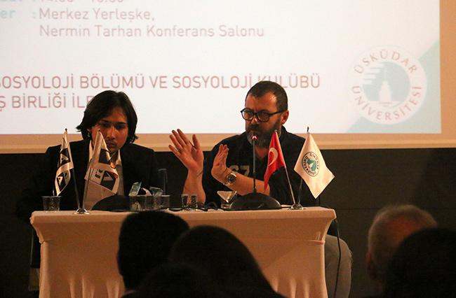 Gazeteci Özay Şendir, Üsküdar Üniversitesi'nde gençlerle buluştu 2