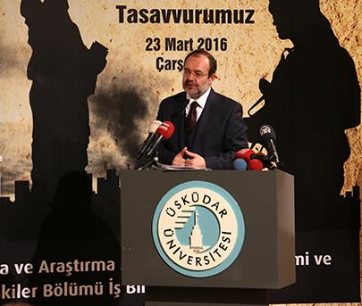 """""""Çağımızın Buhranı Terör"""" Sempozyumu Prof. Dr. Mehmet Görmez'in katılımıyla gerçekleştirildi 2"""