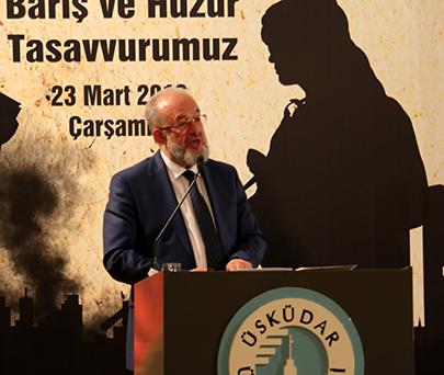 """""""Çağımızın Buhranı Terör"""" Sempozyumu Prof. Dr. Mehmet Görmez'in katılımıyla gerçekleştirildi 3"""