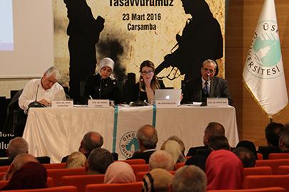"""""""Çağımızın Buhranı Terör"""" Sempozyumu Prof. Dr. Mehmet Görmez'in katılımıyla gerçekleştirildi 4"""