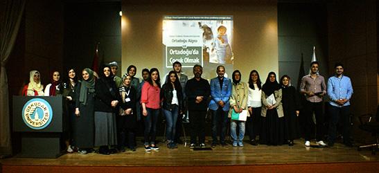 Ortadoğu Çocukları Üsküdar Üniversitesi'nde konuşuldu