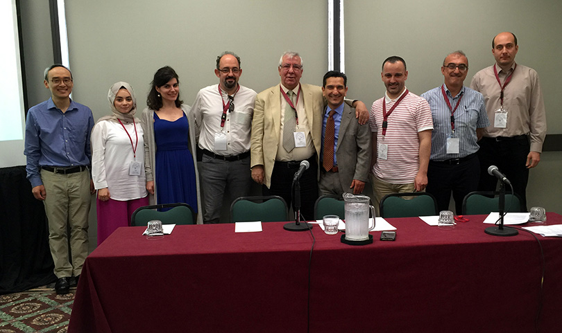 """Prof. Sinan Canan gave the presentation """"The Effects of Neurofeedback"""" in Miami"""