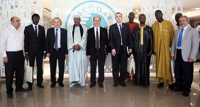 Senegal Ahmet Bamba Üniversitesi Üsküdar Üniversitesi'ne işbirliği ziyaretinde bulundu 2
