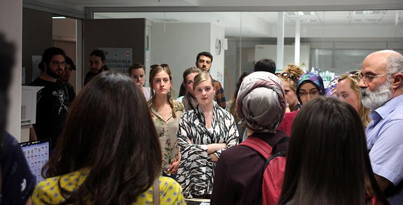 Erasmus kapsamında Hollanda'dan 15 öğrenci Üsküdar'da… 2