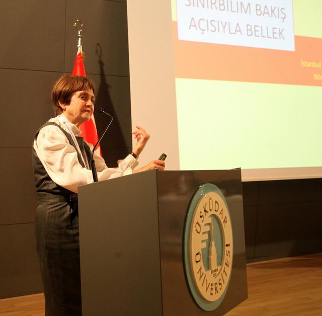 """""""The Secret of Super-Aging"""" was explained at Üsküdar University"""