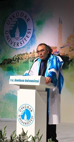 Üsküdar Üniversitesi Rektörü Prof. Dr. Nevzat Tarhan'ın 2015 yılı Mezuniyet Töreni Konuşmasıdır