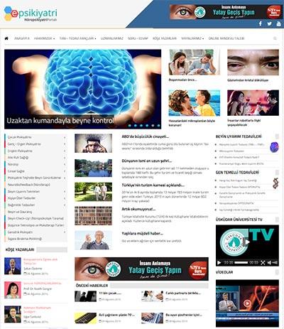 Türkiye'nin en büyük psikiyatri web portali E-PSİKİYATRİ yenilendi