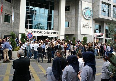 Üsküdar Üniversitesi'nde gerçeği aratmayan tatbikat