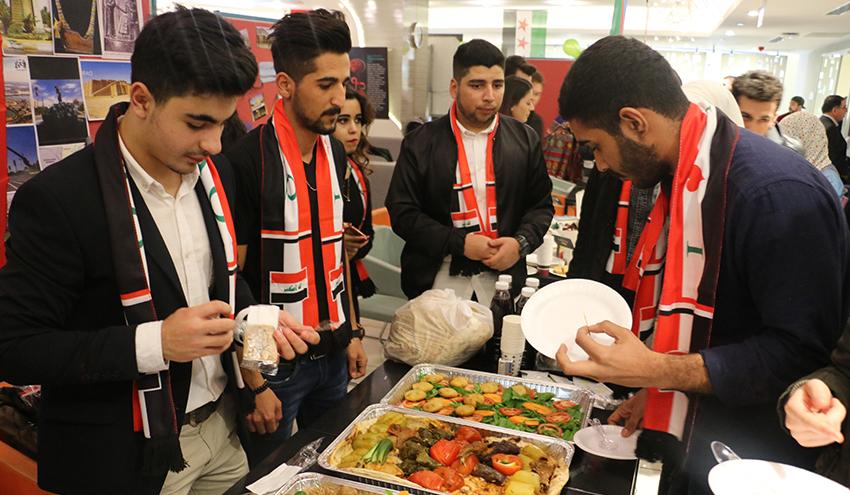 Erasmus Oğrenci Etkinliği Yemek Kültürü