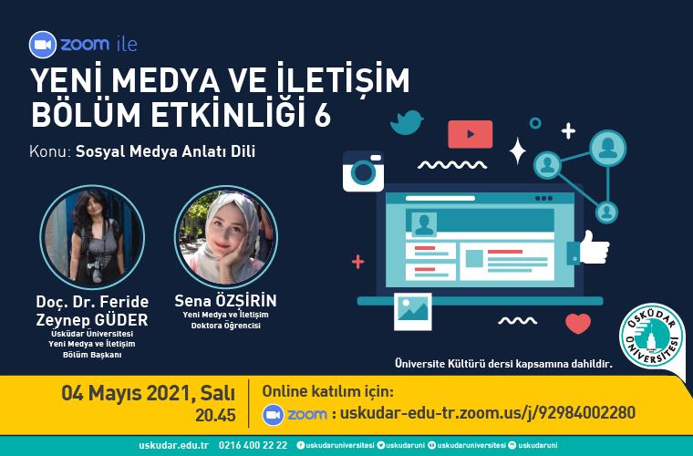 yeni medya ve iletişim bölüm etkinliği 6