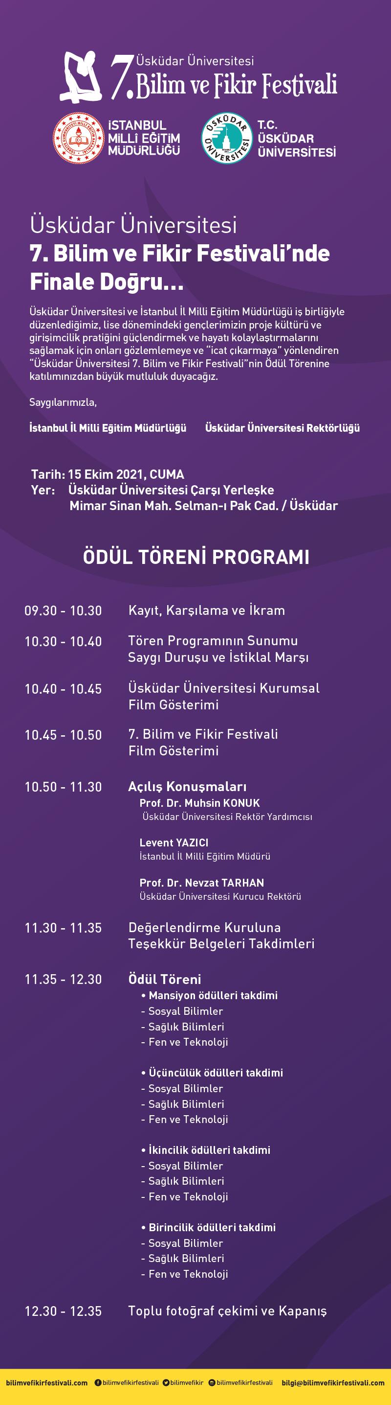 7. bilim fikir festivali