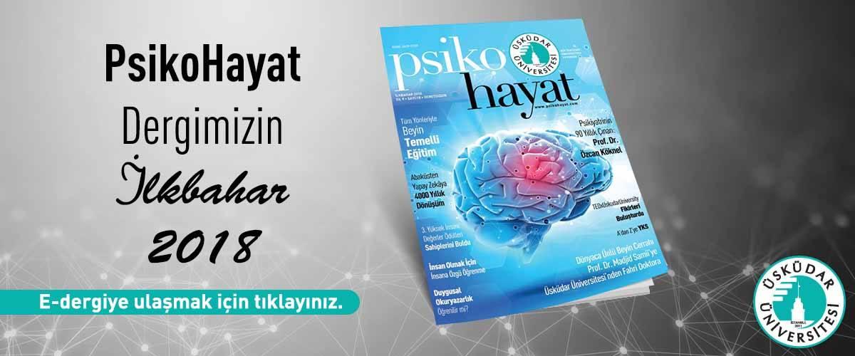 Psikohayat Dergisi 2018