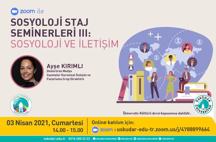 sosyoloji seminerleri