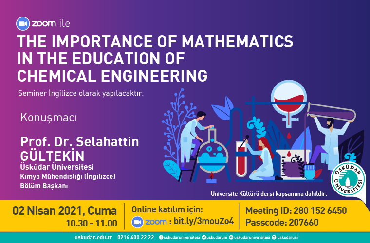 The Importance of Mathematics in the Education of Chemical Engineering
