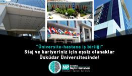 Üniversite-Hastane İş Birliği