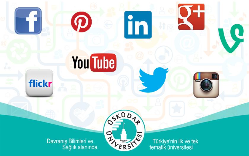 Üsküdar Üniversitesi Sosyal Medya Hesapları